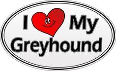 Definitely a greyhound lady.