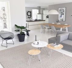 A clean and simple living room! A clean and simple living room! Home Living Room, Interior Design Living Room, Living Room Designs, Living Room Decor, Living Spaces, Open Space Living, Scandinavian Interior Design, Modern Interior, Scandinavian Style