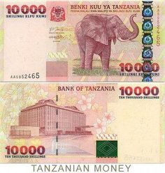 Roberts World Money. Sellers of Quality World Banknotes. Tanzania, Money Template, History Of Philosophy, Money Worksheets, Money Notes, World Thinking Day, Coins Worth Money, Coin Art, Old Newspaper
