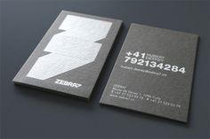 PVC Metallic Ink Business Cards - Quieres una tarjeta como esta? Con nosotros puedes. -Tarjenova-