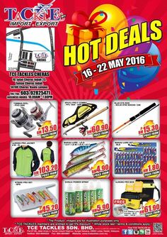 16-22 May 2016: TCE Tackles Red Hot Deals