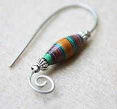 Paper clip and magazine bead