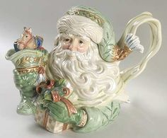 Figurine Teapot & Lid [TPF] in Gregorian Collection by Fitz & Floyd  at Replacements, Ltd