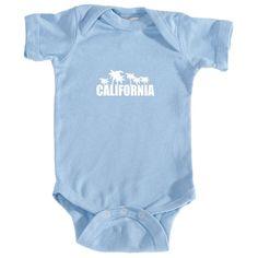 California Palm Trees - Infant Onesie/Bodysuit