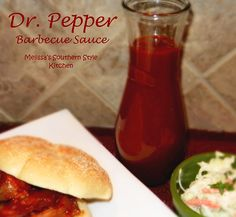 Melissa's Southern Style Kitchen: Dr. Pepper Barbecue Sauce