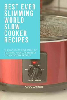 Looking for Slimming World slow cooker recipes? Here are the BEST Tasty Slimming World Slow cooker recipes for you to make for the family. Diet Coke Chicken Slimming World, Slimming World Diet, Slimming World Recipes, Slow Cooker Desserts, Slow Cooker Recipes, Crockpot Recipes, Sweet And Sour Vegetables, Slow Cooker Recipe Book, Whole Food Recipes