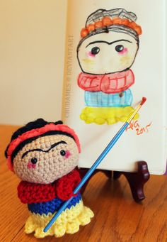 Frida Kahlo by Chudames.deviantart.com on @DeviantArt