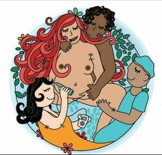 Doula, Birth Art, Midwifery, Mom And Dad, Compassion, Crow, Snow White, Disney Characters, Fictional Characters