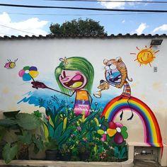 """601 curtidas, 2 comentários - Arte Sem Fronteiras (@artesemfronteiras) no Instagram: """"Artwork (mural) by Feik Frasao in Brasil Instagram : @feik_frasao Veja a matéria sobre o artista…"""""""
