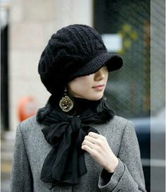 5dcabb82bef Women Girl Slouchy Knit Beanie Winter sboy Snow Hat -  2.77 You can view  after click