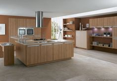 The Beauty Of Natural Wood Can Brighten Any Kitchen! These Pictures Of  Modern Light Wood Kitchen Cabinets Reveal Dozens Of Contemporary Design  Ideas.
