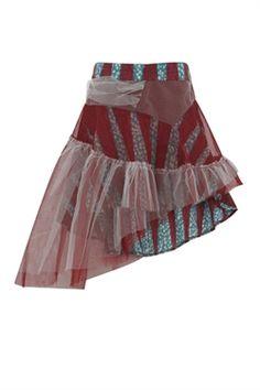 Assymetric Tween Skirt- Isossy Children