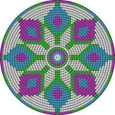 Risultati immagini per crochet pattern wayuu bag Motif Mandala Crochet, Tapestry Crochet Patterns, Knitting Patterns, Crochet Gratis, Crochet Diy, Crochet Chart, Crochet Handbags, Crochet Purses, Cross Stitch Embroidery