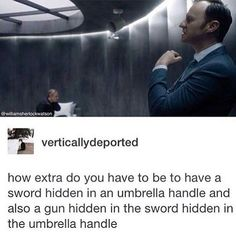 Mycroft Holmes, being a badass. And that explains why the umbrella never left his side Sherlock Bbc, Sherlock Fandom, Jim Moriarty, Watson Sherlock, Sherlock Quotes, Mycroft Holmes, Detective, Rupert Graves, Vatican Cameos