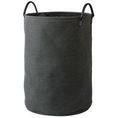 De Nort wasmand van Aquanova heeft een comfortabele uitstraling en is een functioneel item voor in de badkamer.