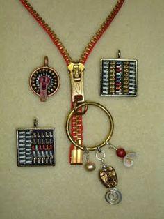 Zipper jewelry - Love this!! Very unique!