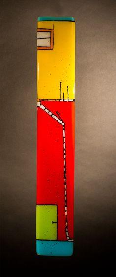 The I's Have It: Meg Branzetti, Vicky Kokolski: Art Glass Wall Art | Artful Home