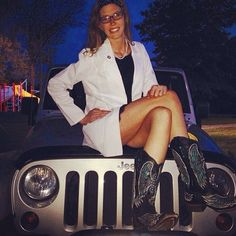 @schnell13 graduated nursing school .... Had to have a picture with the #jeep #jeepher #Padgram