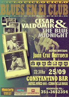 César Valdomir, esta noche.