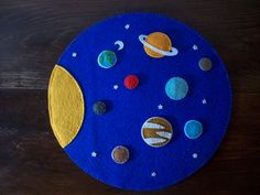 This is our newest work, The Solar System ;o))  ladykeche.blogspot.com/   For other felt products, you can take a look in our blogspot ;D (ENGLISH AVAILABLE)