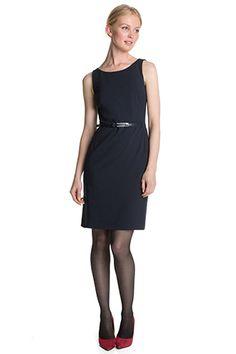 Esprit - Business-Kleid + Gürtel im Online Shop kaufen
