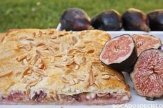 Bocadosdecielo: Quiches y pizzas. Canapes, Sweet Desserts, My Recipes, Camembert Cheese, Tapas, Cheesecake, Meat, Cooking, Figs