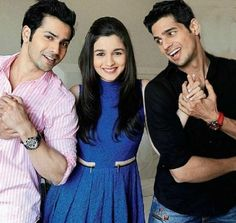 Alia Bhatt , Varun Dhawan , Siddharth Malhotra...can't stop from watching student of the year again and again