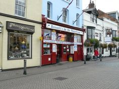 Weymouth - fish and chip shop