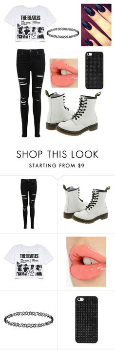 """""""Punk Inspired"""" by forever-young114 ❤ liked on Polyvore featuring Miss Selfridge, Dr. Martens, Retrò, Charlotte Tilbury, Dorothy Perkins, BaubleBar, women's clothing, women, female and woman"""
