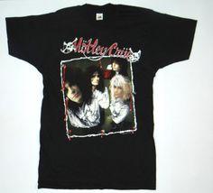 Vintage 89' MOTLEY CRUE Shirt Metal Glam Rock by NicFitVintage