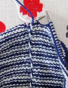 Knitting Stripes In The round