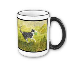 Collie Dog mug by artistjandavies