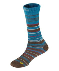 Another great find on #zulily! Slate Black & Morocco Super Strata Wool-Blend Crew Socks - Women by KEEN #zulilyfinds