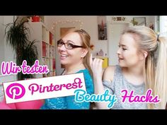 PINTEREST BEAUTY HACKS im TEST / by GossipGold - YouTube