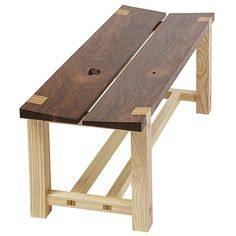 Tapered-seat Bench Woodworking Plan from WOOD Magazine