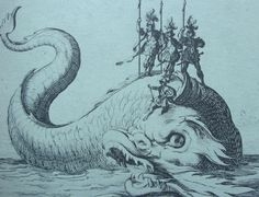 Jacques Callot - Sea Monster