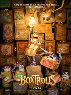 Les Boxtrolls de Graham Annable et Anthony Stacchi, octobre 2014