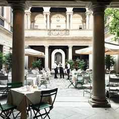 1000 images about bars restaurants on pinterest for Ristorante montenapoleone milano