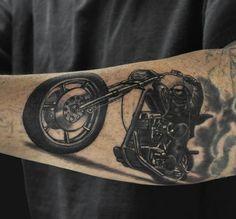 biker tattoo 1