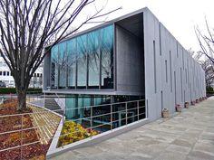 城西大学 水田美術館, Mizuta Museum of Art, Josai University, Saitama, Japan by Ken Lee 2010 Creative Architecture, Architecture Old, Old And New, Art Museum, Facade, University, Stairs, Saitama Japan, World