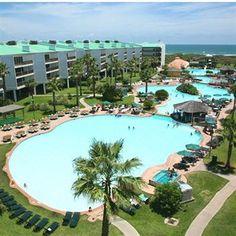 port Royal ocean Resort, Port Aransas Texas  One of Raegan's favorite places - been visiting here every summer for years!