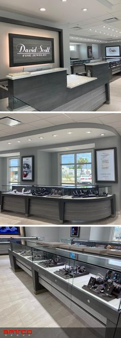 "Manufacture & Design of Store Fixtures by Artco Group.  ""The only way to do great work is to love what you do"" Jewelry Store Design, Jewelry Stores, Store Fixtures, Retail Design, Planners, Flat Screen, Fine Jewelry, United States, Group"