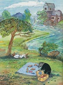 michael foremans wind in the willows