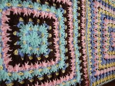 Ravelry: Twist & Shake Square pattern by Jennifer Gregory