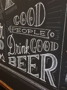 Chalk Mural - Close-up of lettering on Behance