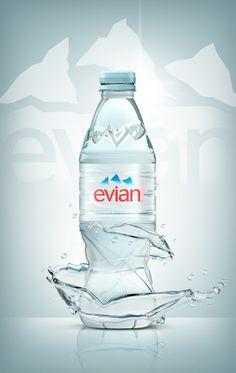 """Pub Evian """"Splash It !"""""""