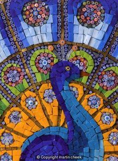 Art Cards Gallery: Peacock Display - art mosaic gallery s cards ...365 x 500 | 62.5 KB | www.martincheek.co.uk