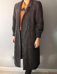 A personal favorite from my Etsy shop https://www.etsy.com/listing/251106950/vintage-wool-coat-brown-wool-coat-women