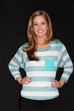 The Willow Tree - Mint Stripe High-Low Top, $26.95 (http://willow-tree.mybigcommerce.com/mint-stripe-high-low-top/)