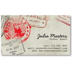 17 best business card ideas images on pinterest stamped business shop customizable passport business cards and choose your favorite template from thousands of available designs colourmoves